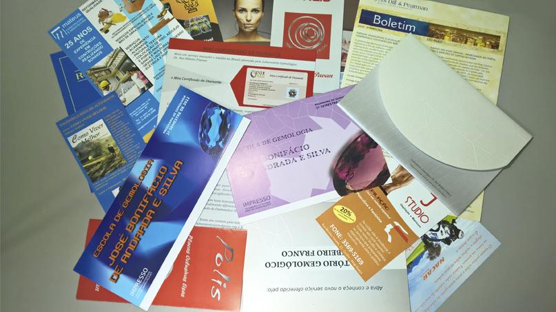 folder, flyer, catálogo